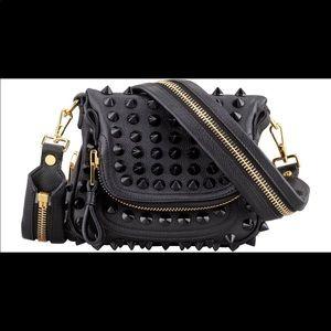 5f03fd8ad5 Tom Ford · Tom Ford Black Studded Jennifer crossbody Bag